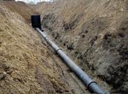Монтаж канализации,  Николаев Прокладка канализации в Николаеве