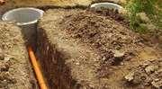 Копаем колодцы, сливные ямы по приемлемым ценам.